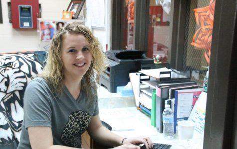 Smiling Secretary Suzanne