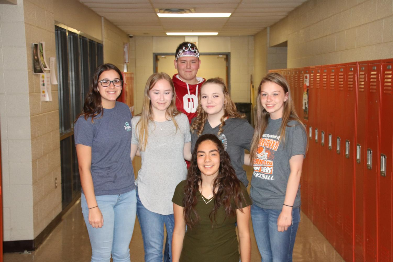2018-2019 STUCO Officers
