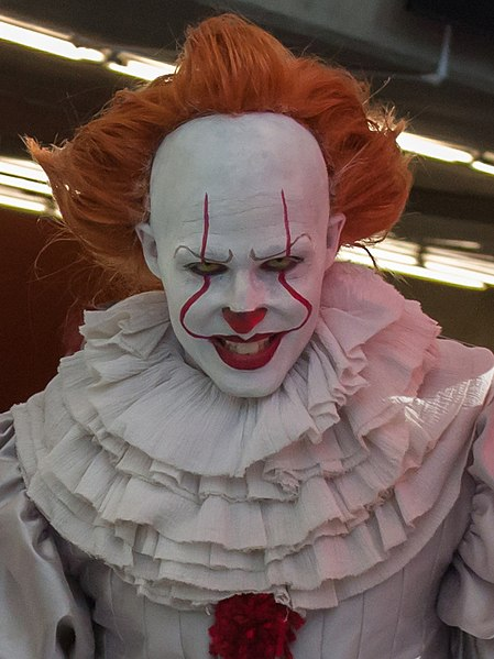 Pennywise the Clown has been terrifying audiences since the 1990s.                      https://creativecommons.org/licenses/by-sa/2.0