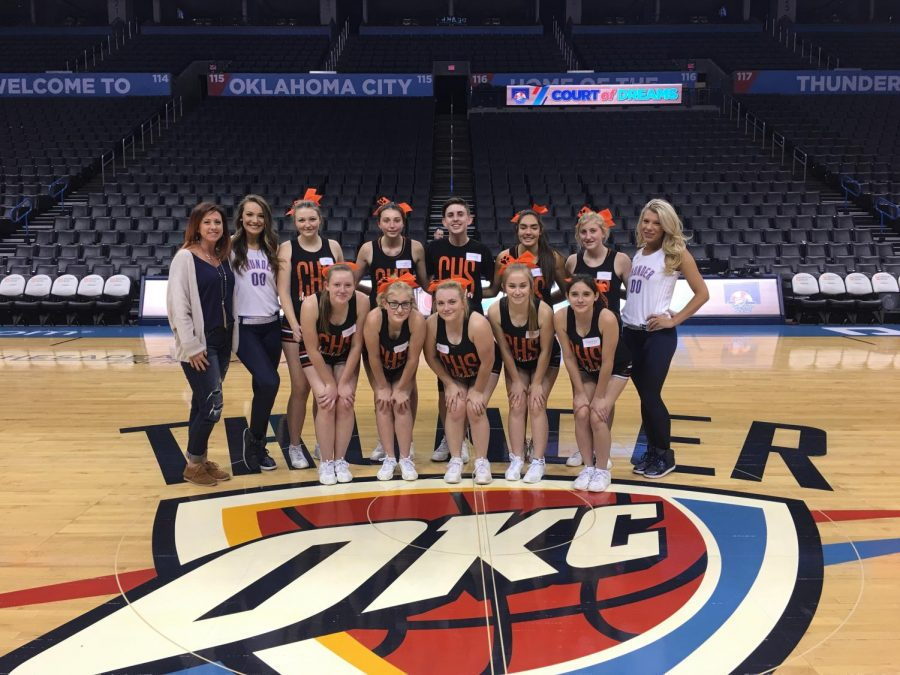 High School Cheerleaders Meet the Thunder Girls