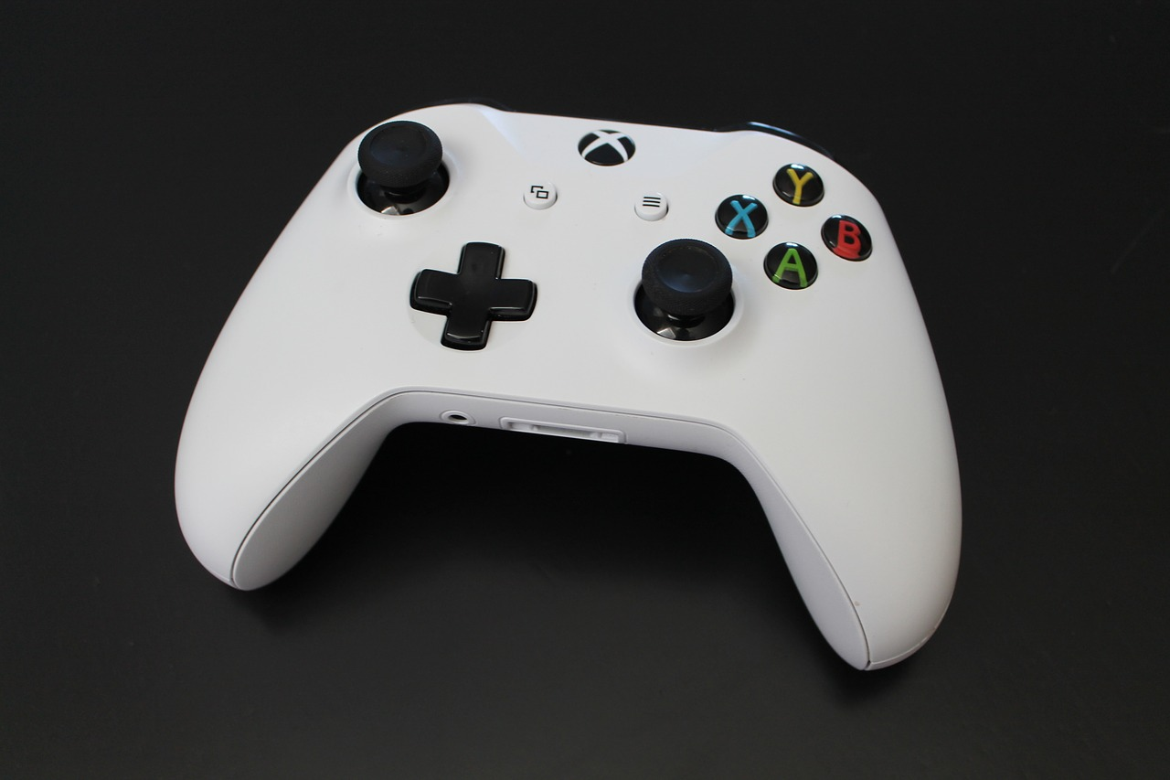 Button Console Video Games Xbox Controller