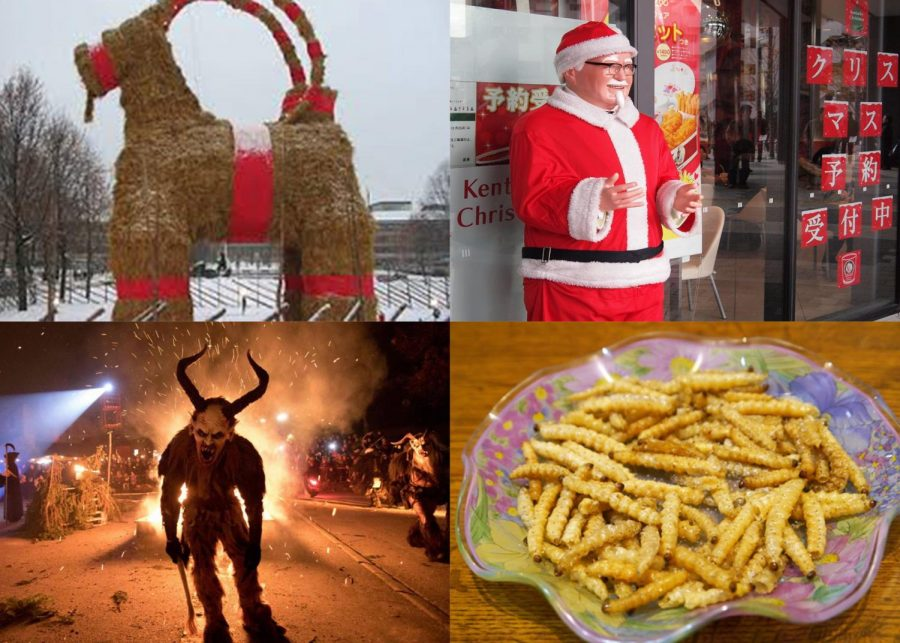 Top Ten Weird Christmas Traditions Around the World