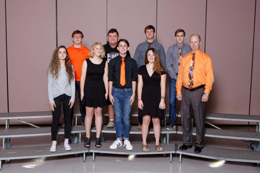 Academic Team Competes In Area