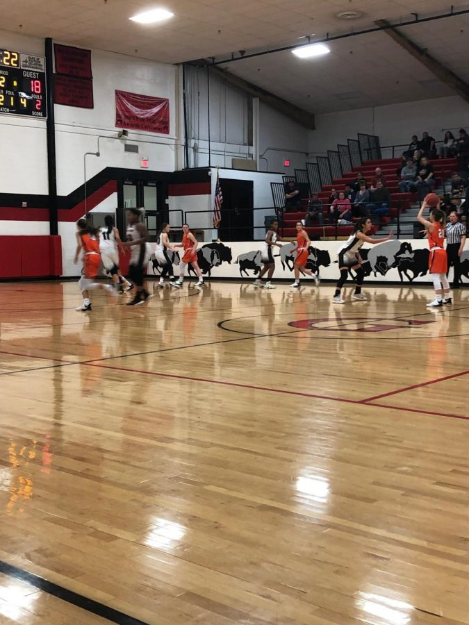 Lady Tigers Defeat Geary Lady Bison