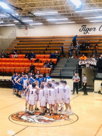 Tigers Defeat The Bison On Senior Night
