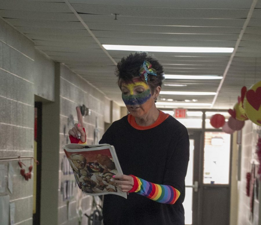 Canton Elementary Enjoys Colorful Reading