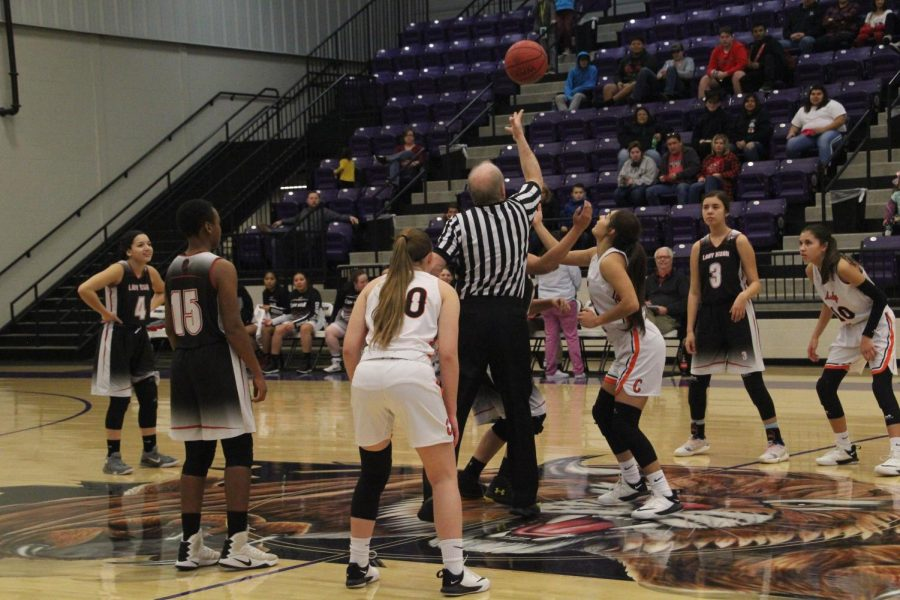 Lady Tigers Win First Round of Districts