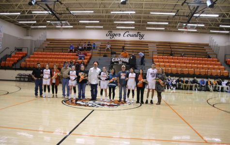 Canton Celebrates Senior Night
