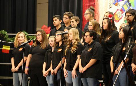 Choir Hosts Their First Spring Concert