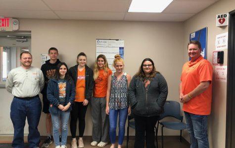 Touring Oklahoma Classes Visit Crossroad Wind Farm