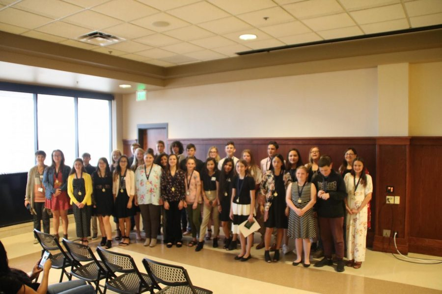 NHD Students Qualify for State