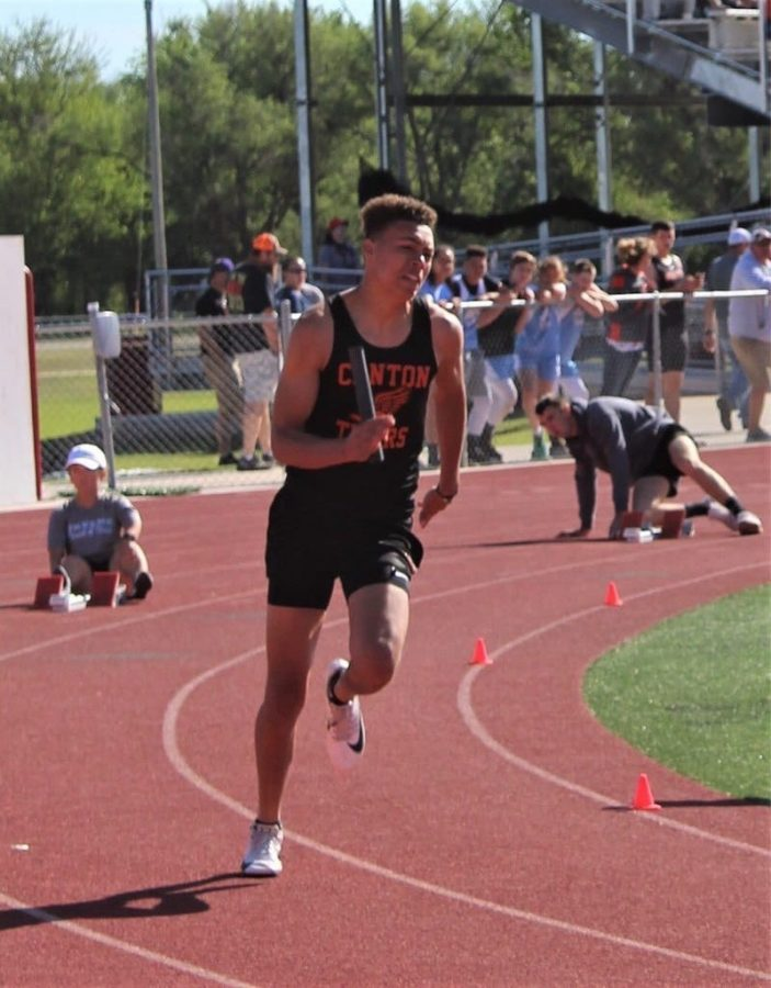 Canton Track Athletes Make It To State