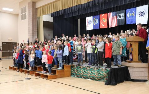 Students Attend Annual Veterans' Day Assembly