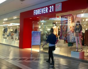 Forever 21 Faces Trouble