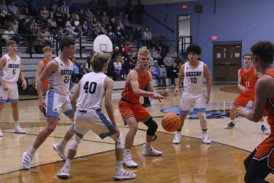 Tigers Victorious Over Okeene Whippets