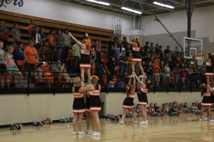 Prospective Cheerleaders Try Out for the 2020-21 Squads
