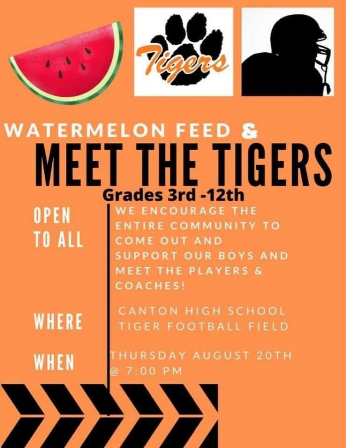 Meet the Tigers Scheduled for Thursday