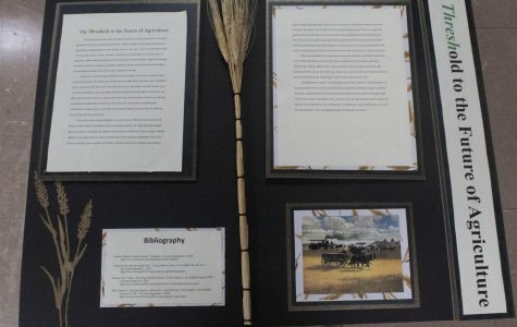 AG and History Day Unite to Research Grain Threshing