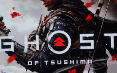 This is the cover art for Ghost of Tsushima. The cover art copyright is believed to belong to the distributor of the game or the publisher, Sony Interactive Entertainment or the developers, Sucker Punch Productions.