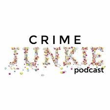 "This is the logo from Crime Junkie. ""File:Crime Junkie Logo.jpg"" by It"