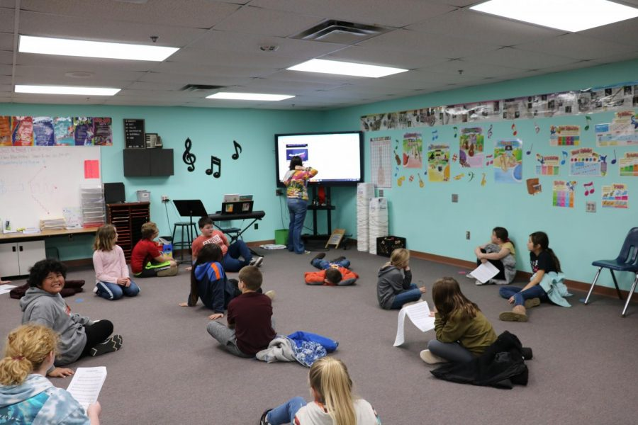 The Music Room Is a Busy Place