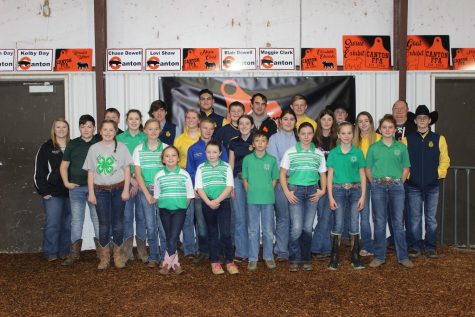 4-H and FFA members show their livestock at the 2021 Canton Local.