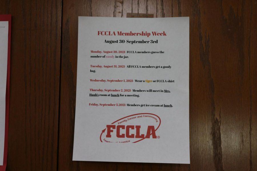 FCCLA Membership Week