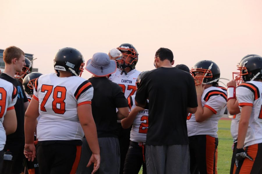 Canton Tigers fall short to the Okeene Whippets