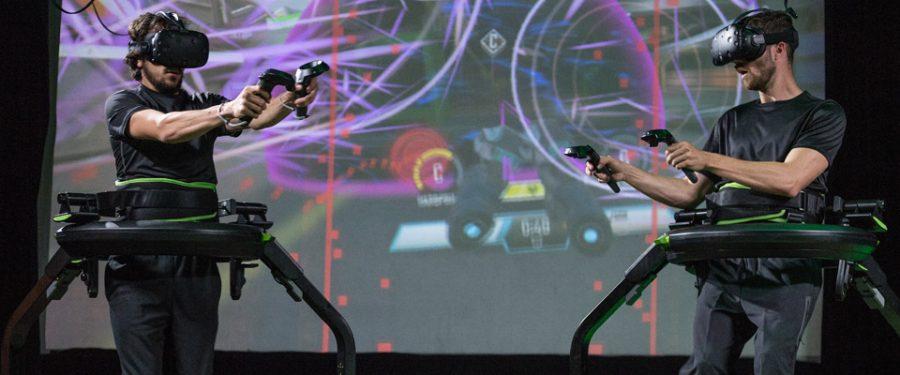 """Run Around in VR Full-Body VR and Esports for Your Venue""/ Virtuix / https://www.virtuix.com/"